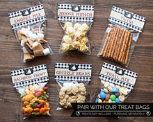 Load image into Gallery viewer, Camping First Birthday Party Favors Treat Bags