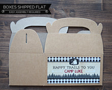 Load image into Gallery viewer, Camping Party Supplies Favor Box