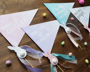 Easter Flag Signs