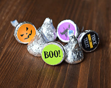 Load image into Gallery viewer, Boo Halloween Candy Label