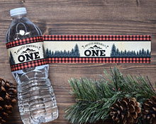 Load image into Gallery viewer, Wild One Birthday Water Bottle Wraps