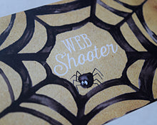 Load image into Gallery viewer, Web Shooter Sticker Halloween Party Favor