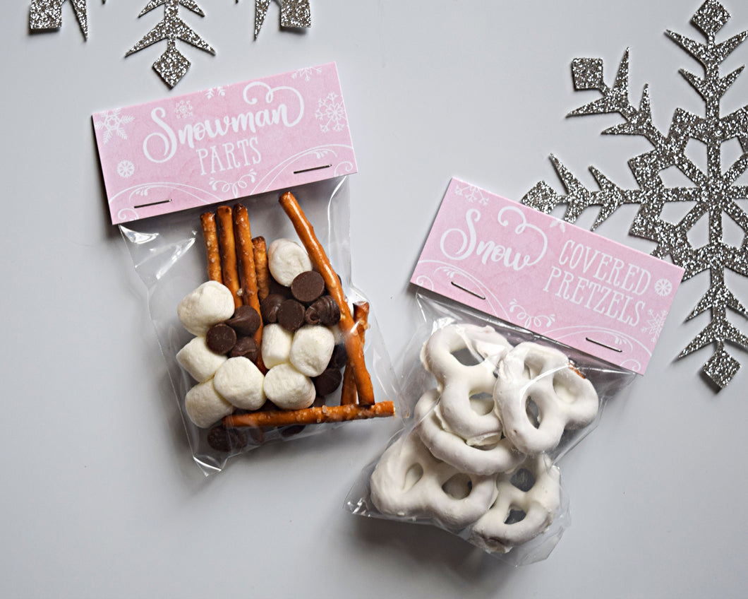 Winter Onederland Party Favors