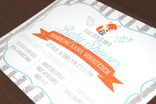 Load image into Gallery viewer, Woodland Baby Shower Invite