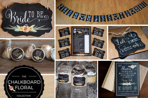 Janee's Elite Designs Rustic Bridal Shower
