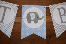 Load image into Gallery viewer, Elephant Baby Shower Decorations Boy