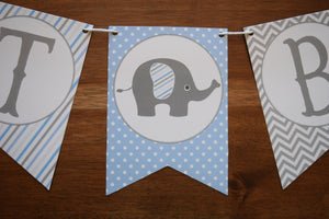 Elephant Baby Shower Decorations Boy