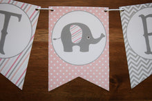 Load image into Gallery viewer, Elephant Baby Shower Decorations Girl
