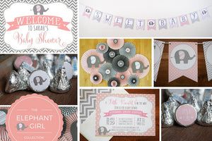 Janee's Elite Designs Elephant Baby Shower