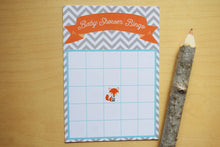 Load image into Gallery viewer, Woodland Fox Baby Shower Bingo Cards