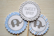 Load image into Gallery viewer, Baby Shower Cupcake Toppers