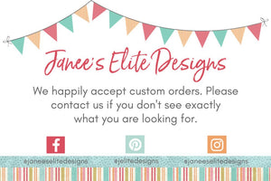 Janee's Elite Designs Construction Birthday Party