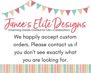 Janee's Elite Designs Building Block Party Invitations