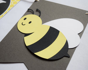 Bumble Bee Baby Shower Banner