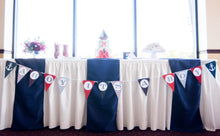 Load image into Gallery viewer, Nautical Baby Shower Ahoy It's A Boy Banner Decoration