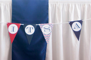 Nautical Baby Shower Decorations