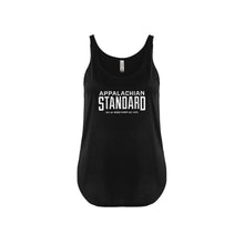 Load image into Gallery viewer, Appalachian Standard Slouchy Tank- Black