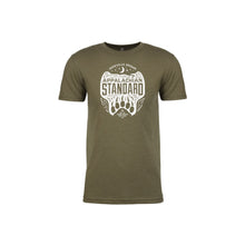 Load image into Gallery viewer, Grow Your Standard Rollie, Unisex Short Sleeved Tee- Military Green