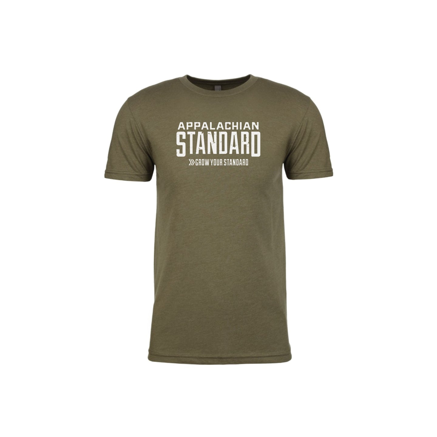 Appalachian Standard Unisex Short Sleeved Tee- Military Green Version 2.0