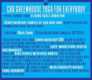 CBD Yoga for EveryBODY with Margaret Kirschner