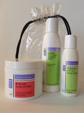 A-Cute Derm: Moderate Acne Kit