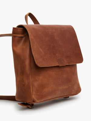 ABLE Kene Backpack in Whiskey