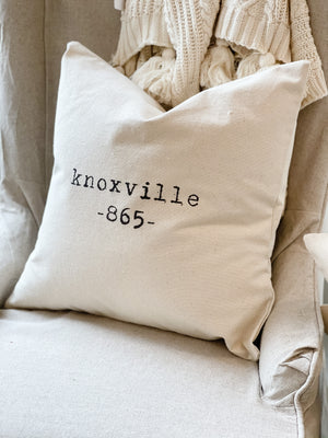 Knoxville 865 Pillow