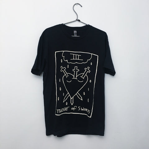 three of swords t-shirt
