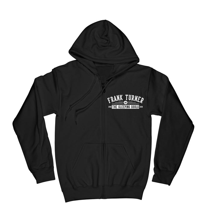 Frank Turner Be More Kind Circle Hands Zip-Up Hoodie - Flagship Apparel LLC