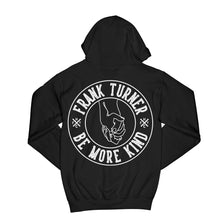 Load image into Gallery viewer, Frank Turner Be More Kind Circle Hands Zip-Up Hoodie - Flagship Apparel LLC