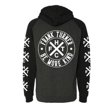Load image into Gallery viewer, Frank Turner Be More Kind Circle Logo Pullover Hoodie
