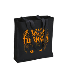 Load image into Gallery viewer, Frank Turner Halloween Tote Bag