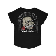 Load image into Gallery viewer, Frank Turner Women's Skull Rose Tour T-Shirt