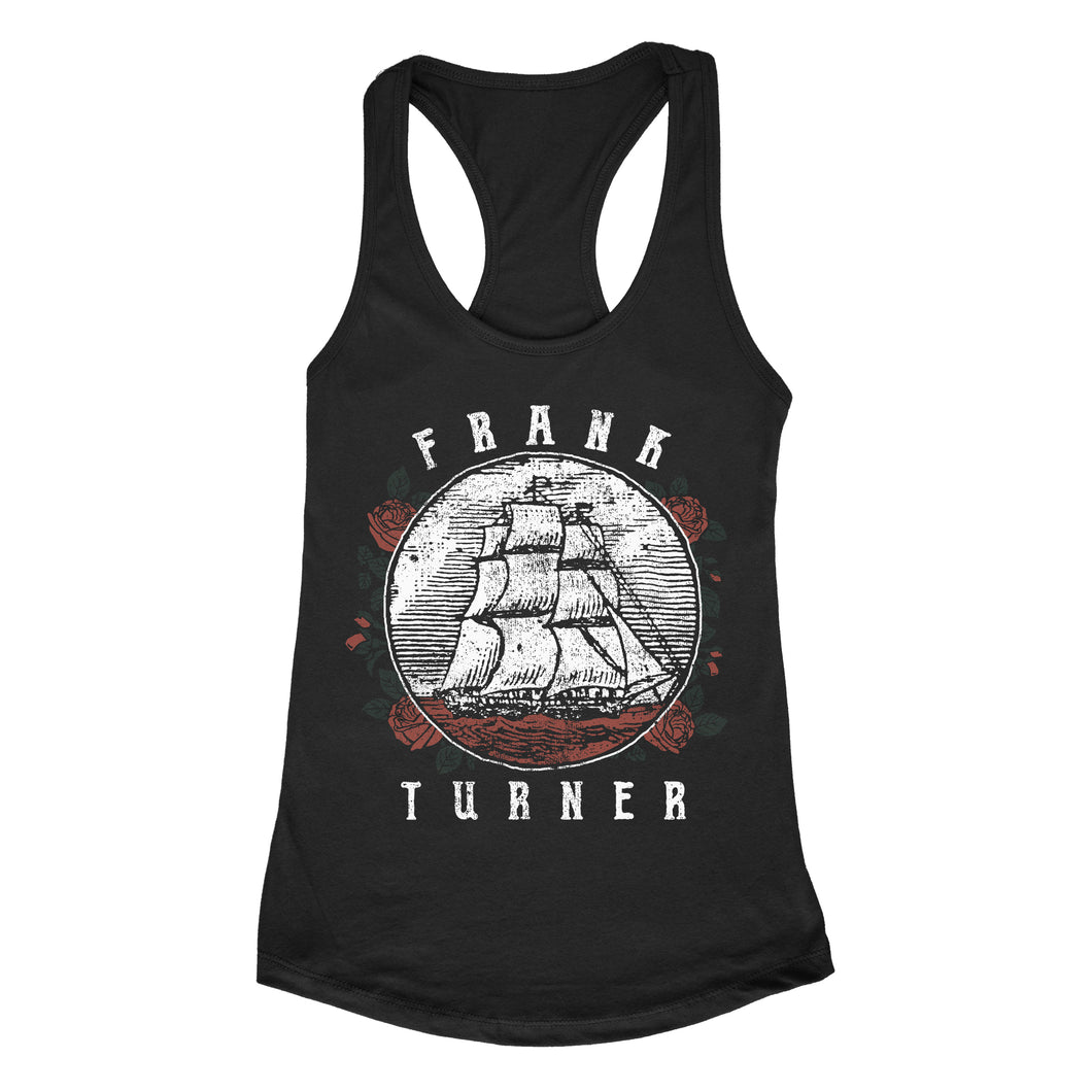 Frank Turner Ship Rose Women's Tanktop - Flagship Apparel LLC