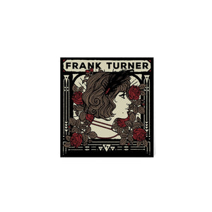 Frank Turner Lady Face Sticker
