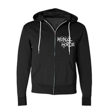 Load image into Gallery viewer, Mongol Horde Skull Logo Zip-Up Hoodie