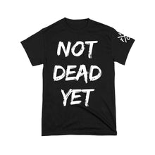 Load image into Gallery viewer, Frank Turner Not Dead Yet T-Shirt (Black)