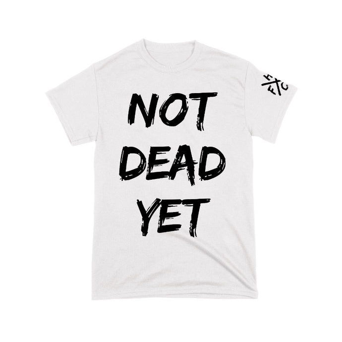 Frank Turner Not Dead Yet T-Shirt (White)