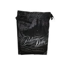 Load image into Gallery viewer, Parkway Drive - Deep Blue Swim Shorts