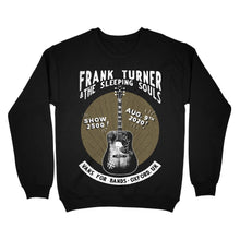 Load image into Gallery viewer, Frank Turner Show 2500 Crewneck Sweatshirt