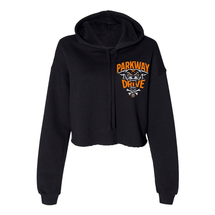 Parkway Drive - World Of Pain Women's Cropped Pullover Hoodie
