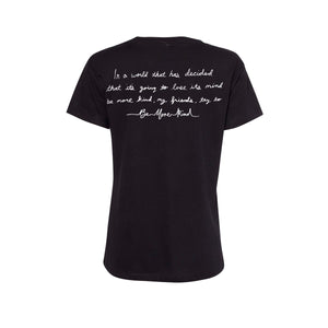 Be More Kind From A Safe Distance Women's  V-Neck T-Shirt