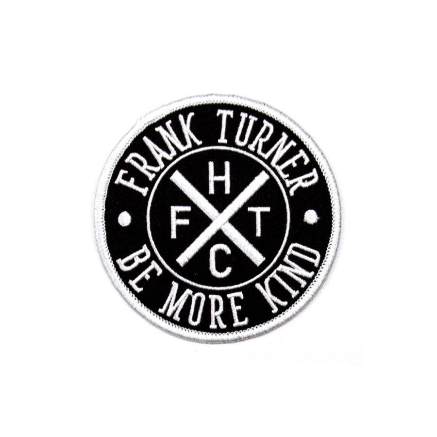 Frank Turner Be More Kind Circle Logo patch - Flagship Apparel LLC