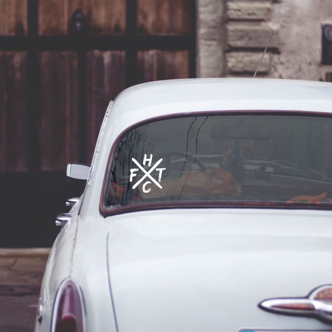Frank Turner FTHC Decal Sticker
