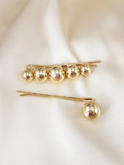 Round Ball Hair Pins (set of 2)