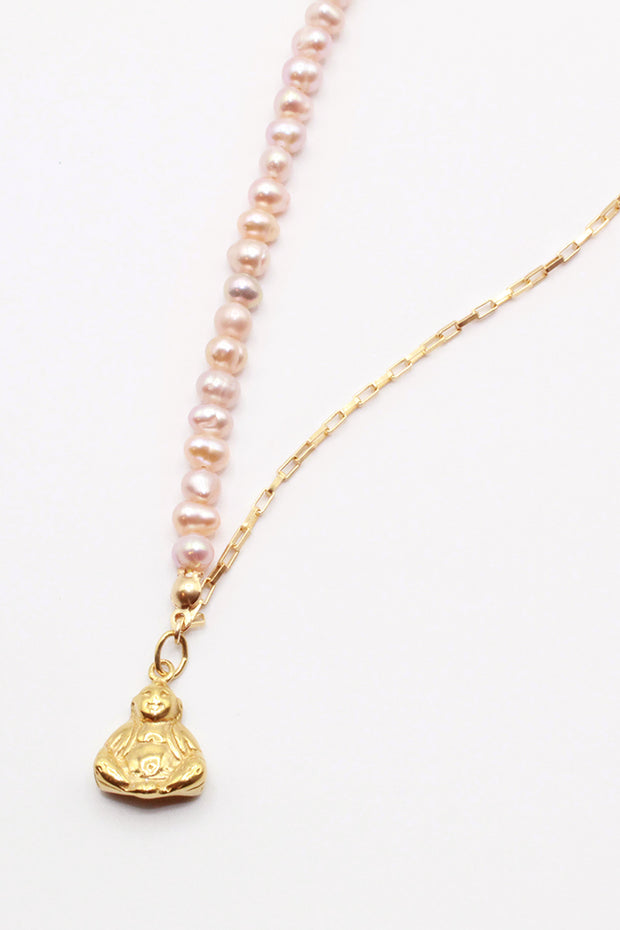 Rose Buddha Necklace