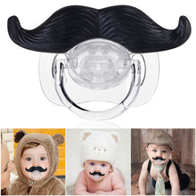 Load image into Gallery viewer, Funny and Cute Mustache Style Baby Pacifier