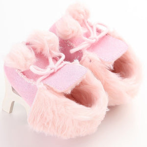Winter Soft Cotton Baby First Walker Shoes