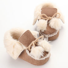 Load image into Gallery viewer, Winter Soft Cotton Baby First Walker Shoes