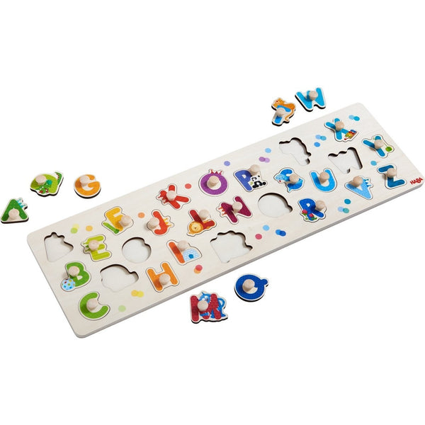 HABA - My First ABC Clutching Puzzle - Wayfaring Baby